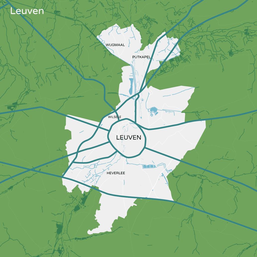 Steden en gemeenten Antwerpse Vervoersregio